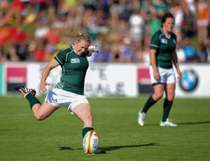 Ireland v New Zealand - Pool B - 2014 Women's Rugby World Cup Final