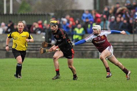 20 February 2016; Páraic O'Loughlin, Ardscoil Ris, in action against Tom Murphy, Our Ladys Templemore. Dr. Harty Cup Final, Ardscoil Ris v Our Ladys Templemore, McDonagh Park, Nenagh, Co. Tipperary. Picture credit: Sam Barnes / SPORTSFILE