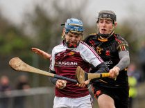 20 February 2016; Conor O'Meara, Our Ladys Templemore, in action against Conor Boylan, Ardscoil Ris. Dr. Harty Cup Final, Ardscoil Ris v Our Ladys Templemore, McDonagh Park, Nenagh, Co. Tipperary. Picture credit: Sam Barnes / SPORTSFILE