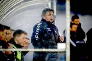Limerick FC 2016 in the Markets Field first SSE Airtricity League match of the season against UCD. Limerick FC manager Martin Russell. Picture: Keith Wiseman