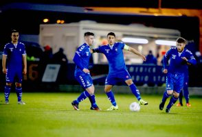 Limerick FC 2016 in the Markets Field first SSE Airtricity League match of the season against UCD. Limerick FC Captain, Shane Duggan starts the new season. Picture: Keith Wiseman