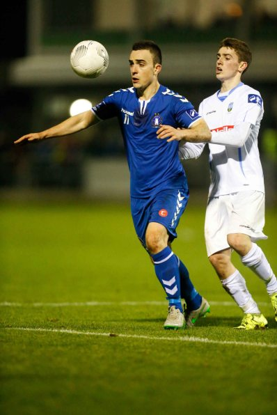 Limerick FC 2016 in the Markets Field first SSE Airtricity League match of the season against UCD. Limerick FC, Shane Tracy. Picture: Keith Wiseman