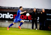 Limerick FC 2016 in the Markets Field first SSE Airtricity League match of the season against UCD. Limerick FC, Aaron Greene. Picture: Keith Wiseman